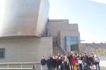 Viaxe cultural do IES San Clemente: Guggenheim, expresionismo abstracto