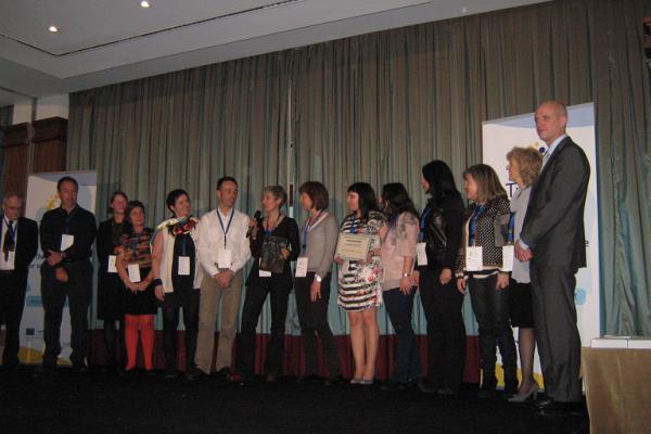 Entrega do premio europeo eTwinning 2013