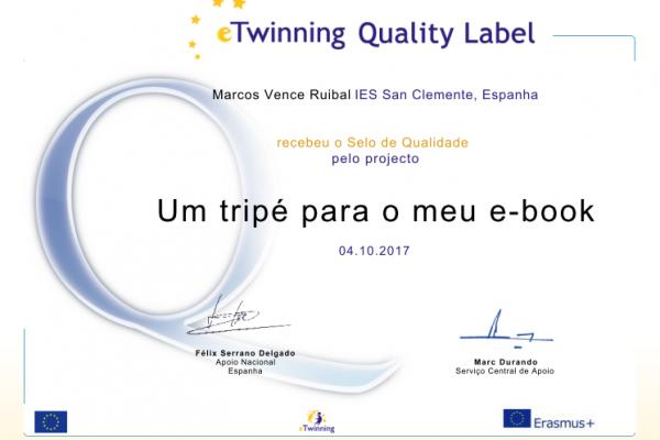 Selos de Calidade eTwinning 2017