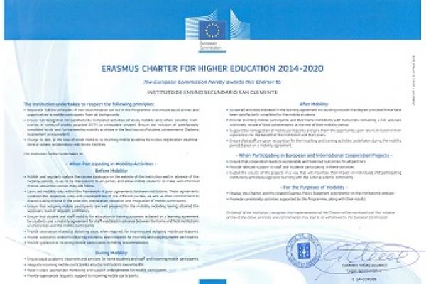 Carta Erasmus 2014-2020