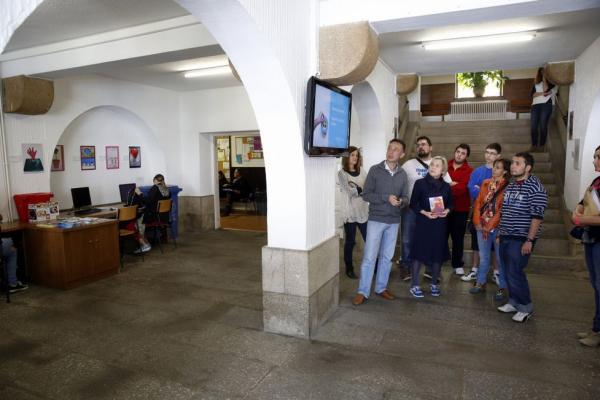 A exposición doARTE en La Voz de Galicia