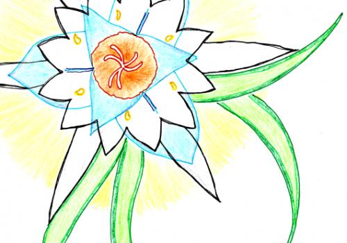 Dúas flores – Giannis Tzaris – mini
