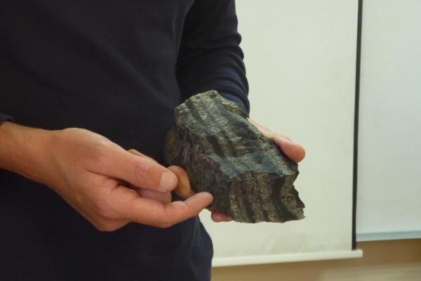 Relatorio e obradoiro de xeoloxía de Galicia