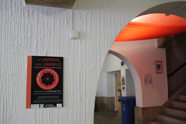 Exposición «As laranxas máis laranxas»