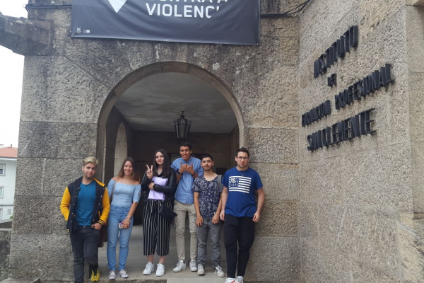 Prácticas de alumnado de INETE en Compostela – 2018