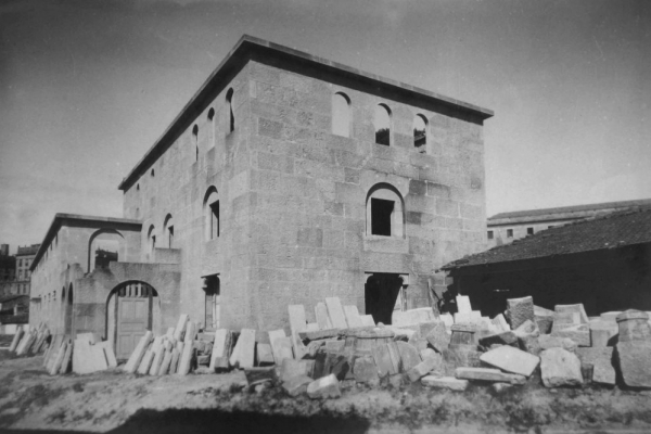 A construcción do IES San Clemente