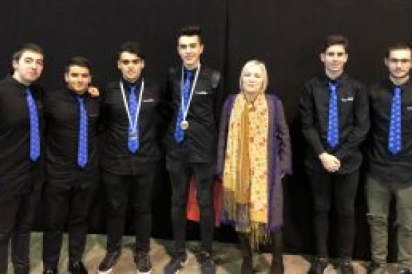 Medalla de ouro no GaliciaSkills 2018