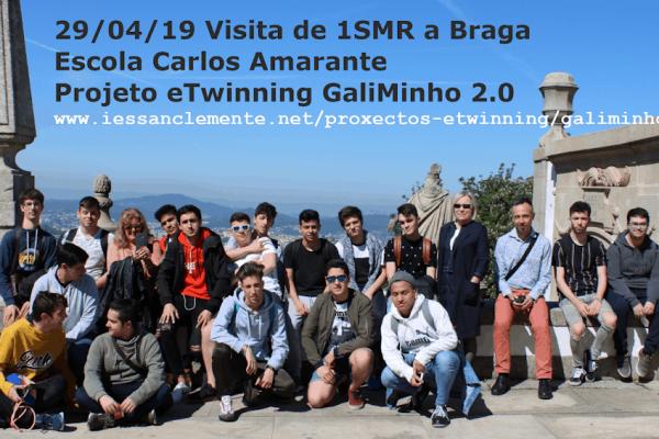 Actividade do alumnado de 1SMR en Braga