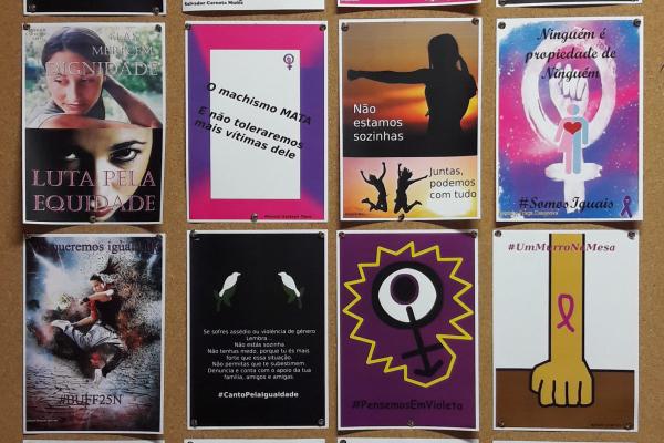 2º certame de cartazes do 25N